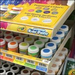 Crayola Color Coded Gravity Feed Display Aux