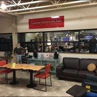 Dane Decor Customer Refreshment Area 1