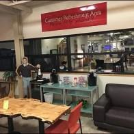 Dane Decor Customer Refreshment Area 2