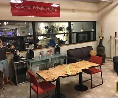 Dane Decor Customer Refreshment Area 4