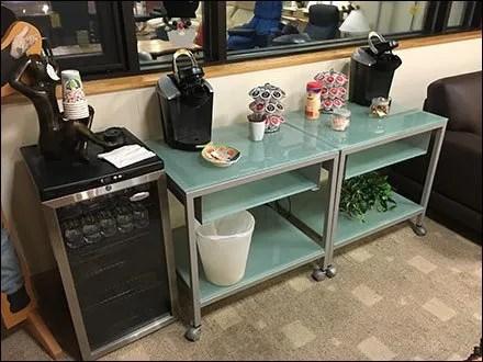 Dane Decor Customer Refreshment Area 6