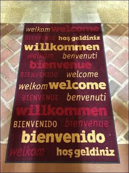 Dane Decor Multi-Lingual Welcome-To-The-Store