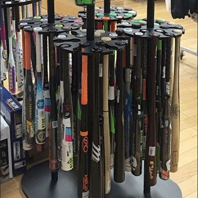 Easton Baseball Bat Rack 2