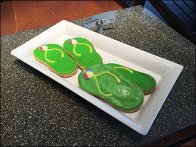 Flip Flop Cookies And Sign Clip 2