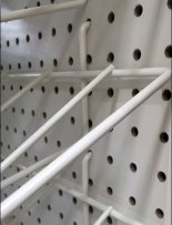 Gravity-Feed Roll Goods Perfect on Pegboard Racks