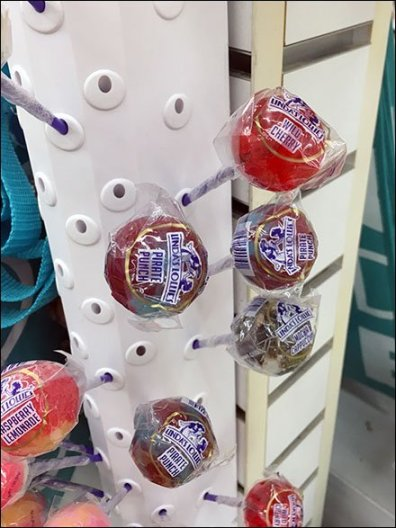 Lindas Lollies Plastic Slatwall Lollipop Display 2