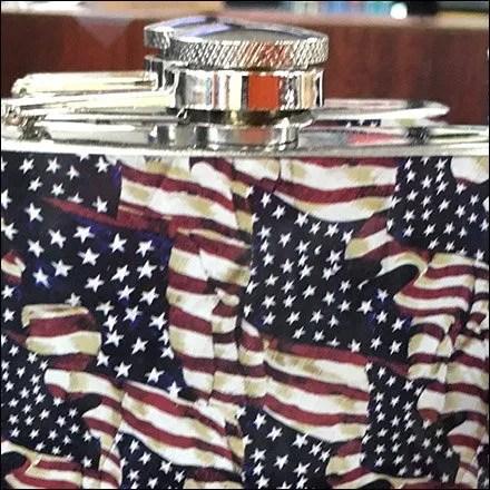 Patriotic Hip Flask 2