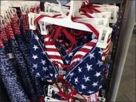 Patriotic Swimwear Merchandising Array 2
