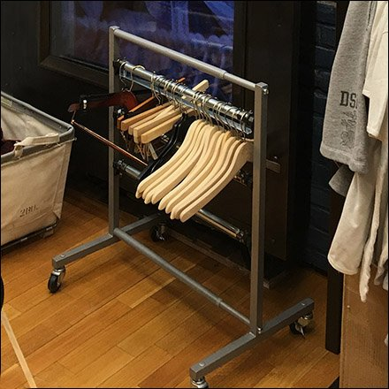 ralph lauren minimalist clothes hanger rack square 1 - Clothes Hanger Rack