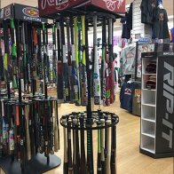 Branded Baseball Bat Merchandiser