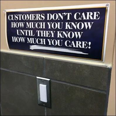 Restroom Morale Builder Pep Talk Feature