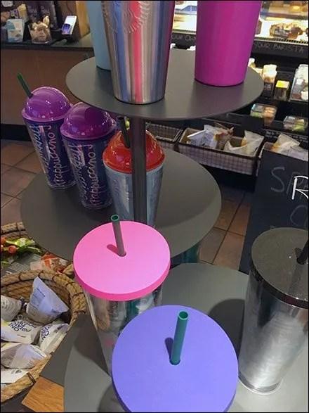 StarBucks Star Trek 3D Chess Travel Mug Display 3