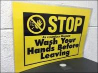 Stop Wash Hands Before Leaving Restroom 2