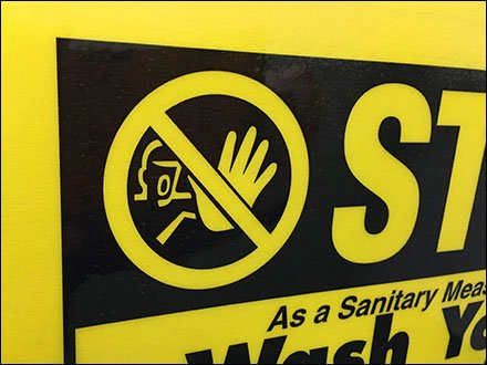 Stop Wash Hands Before Leaving Restroom Main