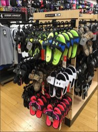 Under Armour Branded Sandal Hangers 1