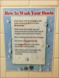 USDA How To Wash Hands 1
