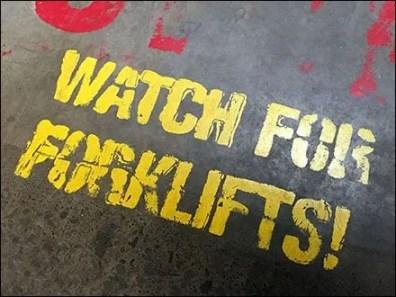 Watch For Forklifts On LSD Acid 2