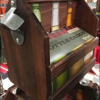 Wood 6-Pack Bottle Carry Merchandising 3