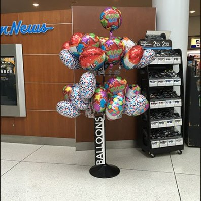 Balloon Tree JFK Concourse 1