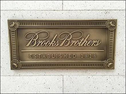 Brooks Brothers Retail Fixtures