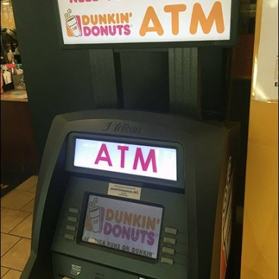 Dunkin Donuts Need Some Dough ATM 2