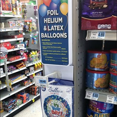 Foil Helium and Latex Balloon Sales 2