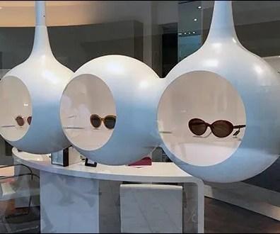Futuristic Suspended Sunglass Niches 2