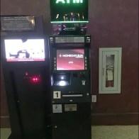 Casino ATM Dramatically Branded In Money Green Neon
