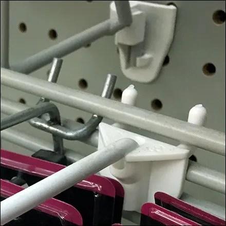 Hook Integration in Lip Balm Display Main