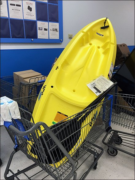 Kayak Shopping Cart 3