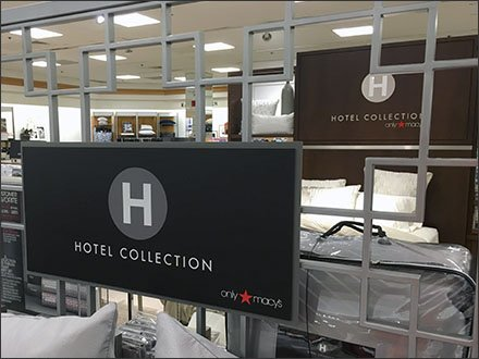 Macy's Hotel Collection Branding in Bedding