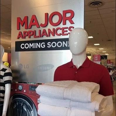 Major Appliances Coming Soon 2