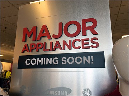 Major Appliances Coming Soon Main