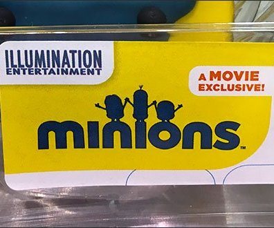 Minion Cookie Mated Tray Logo Branding
