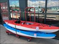 Pelican 6-Wheel Platform Dolly for Kayaks