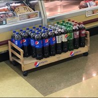 Pepsi Floor Creeper Display 2