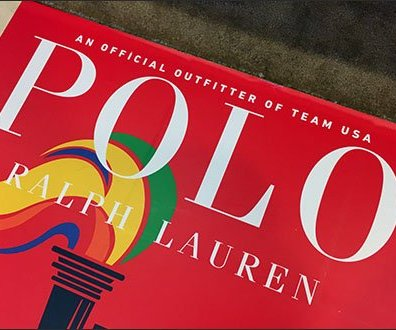 Polo Ralph Lauren US Olympic Team Floor Graphic Logo Aux