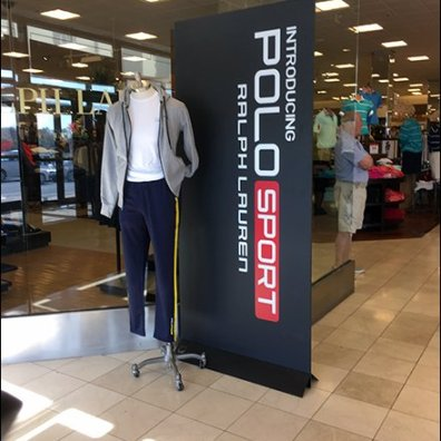 Polo Sport Freestanding Vertical Signage 1