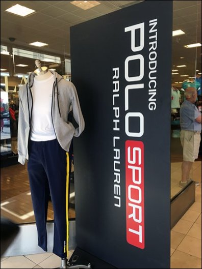 Polo Sport Freestanding Vertical Signage 2