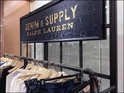 Pipe Fitting Fixtures for Ralph Lauren