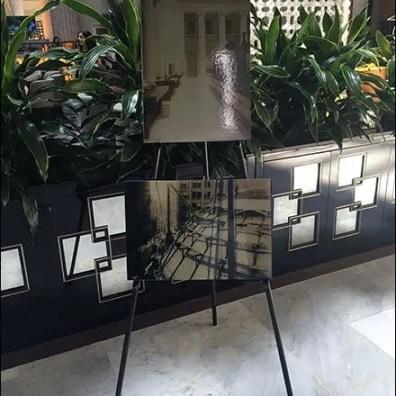 Ritz Carleton Lobby Art Easel 1