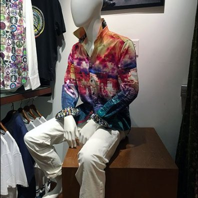 Robert Graham Mannequin Takes a Break 2