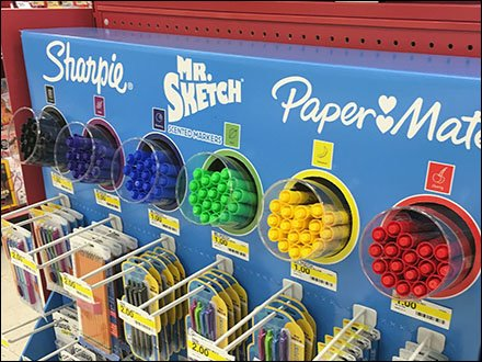 Sharpie Mr Sketch PaperMate Back-to-School Color Code Main