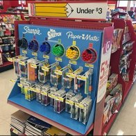 Sharpie Mr Sketch PaperMate Back-to-School Half Display 1