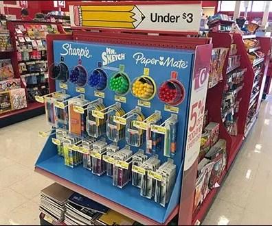 Sharpie Mr Sketch PaperMate Back-to-School Half Display 1