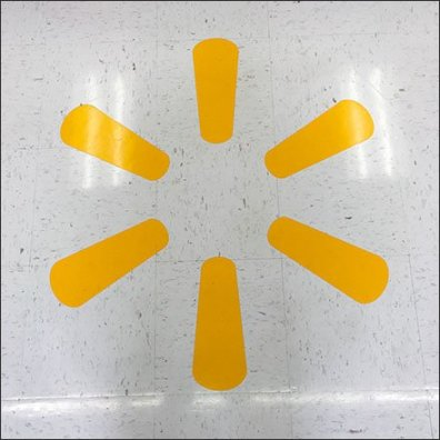 Walmart Floor Graphic Main
