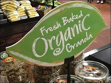 Wegmans Organic Table-Top Sign Clip Main