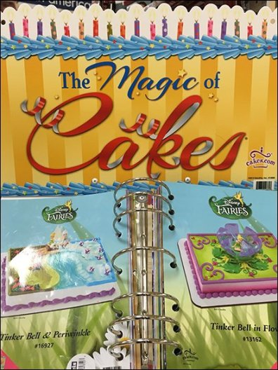 The Magic of Cakes Freestanding Catalog Stand