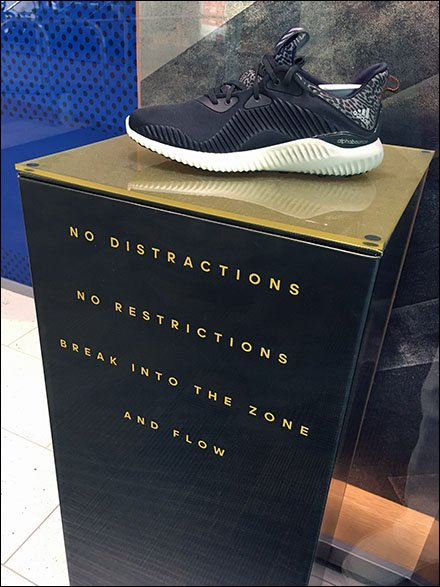 Adidas Delivers No Distractions No Restrictions