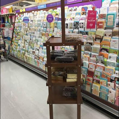 Asher's Cocolate Co Display Rack 3
